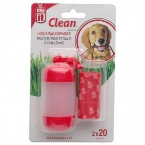 Dispenser de bolsitas para residuos Dog It