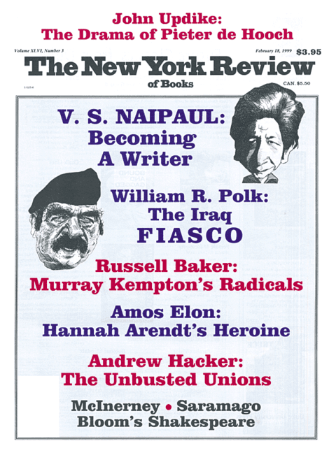 The New York Review Of Books - Febraury 18 - 1999