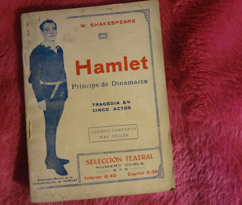 Hamlet Principe de Dinamarca de William Shakespeare