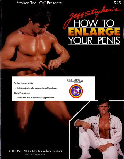 Jeff Stryker's How to enlarge your penis