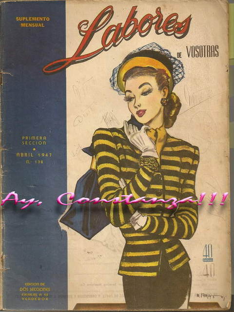 revista LABORES Abril 1947