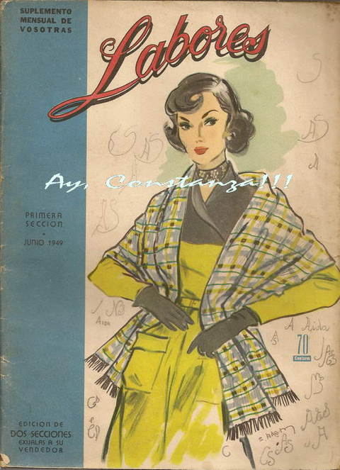revista LABORES JUNIO DE 1949