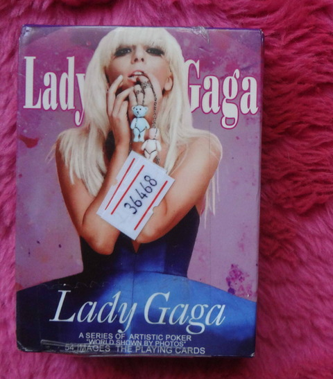 Lady Gaga - Collectible Poker Poker Playing cards
