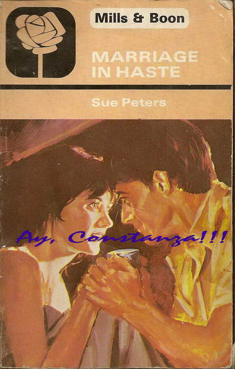 Marriage in Haste by Sue Peters