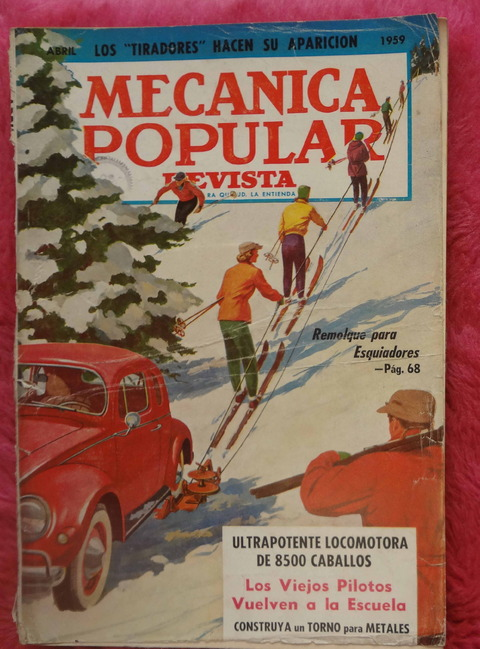 Mecánica Popular Revista - Abril de 1959