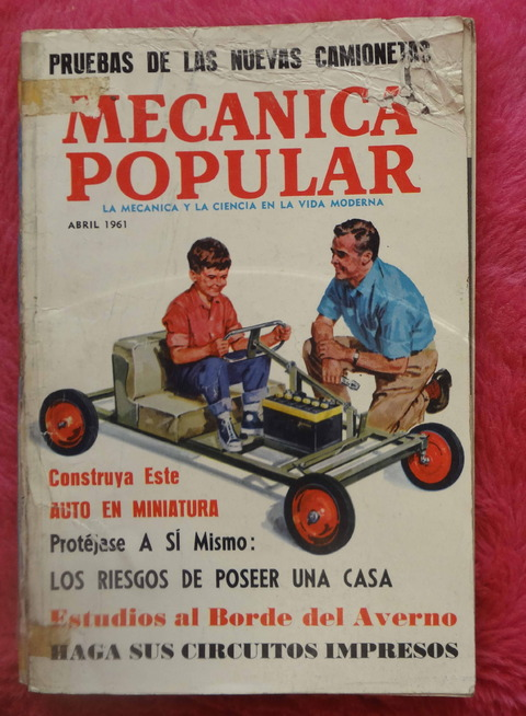 Mecánica Popular Revista - Abril de 1961