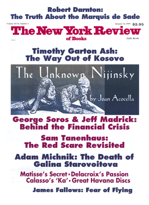 The New York Review Of Books - January 14 - 1999