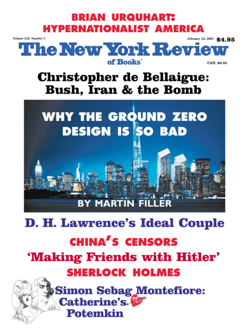 The New York Review Of Books - Febraury 24 - 2005