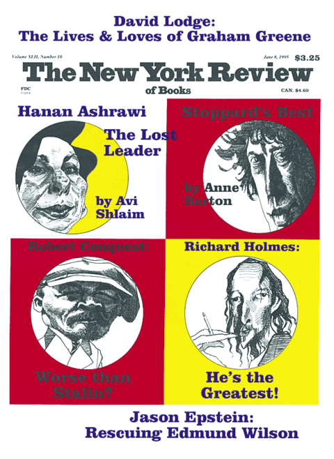 The New York Review Of Books - June 8 - 1995