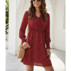 Vestido Boho Hot Red  - RVES373
