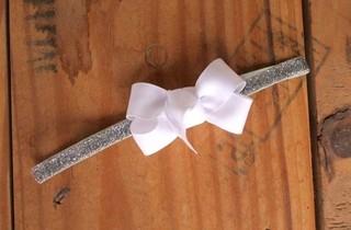 Faixinha laço de gorgurão 8cm 092