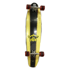 Longboard Profesional Maple Canadiense Kicktail Skate Cruise - comprar online