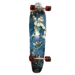 Longboard Profesional Maple Canadiense Kicktail Skate Cruise
