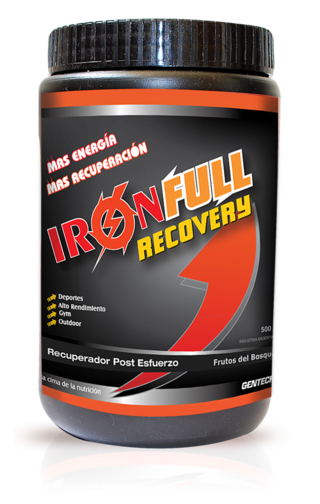 GENTECH IRON FULL RECOVERY (500 GRS)
