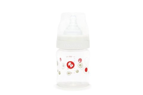 Mamadera Con Tetina De Silicona De 120ml Fisher Price