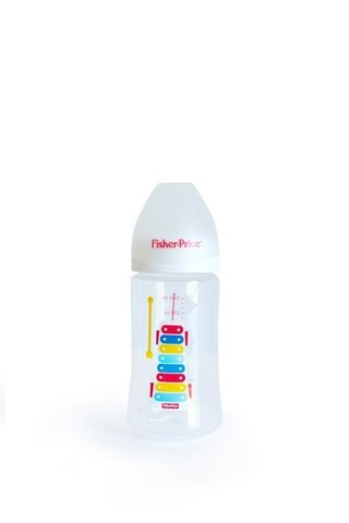 Mamadera Con Tetina De Silicona De 240ml Fisher Price