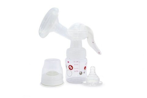 Sacaleche Manual Con Mamadera De 120ml Fisher Price