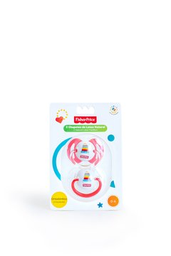 Chupetes 2 Unidades Fisher Price Latex Etapa 1 De 0 a 6 Meses en internet