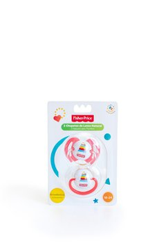 Chupetes Dos Unidades Fisher Price Latex Etapa 3 De 18 a 24 Meses en internet