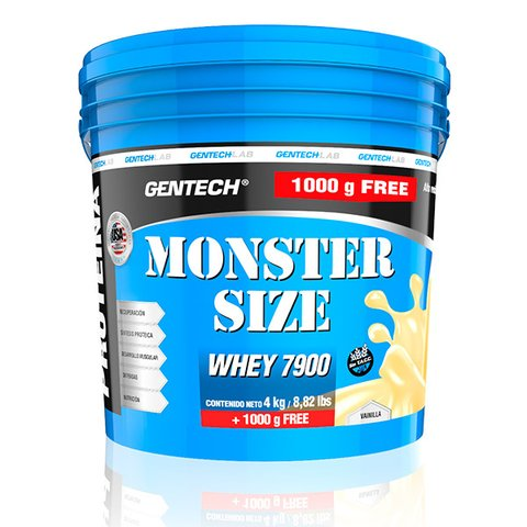 Whey Protein Monster Size 5000grs Gentech