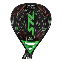 Paleta Padel STL Steel Custom Black Air negro con verde