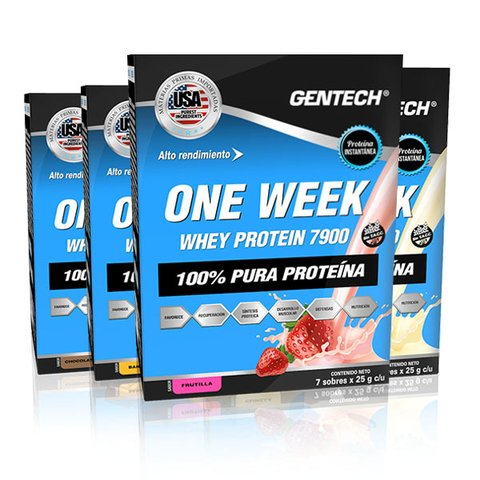 One Week Whey Protein Gentech