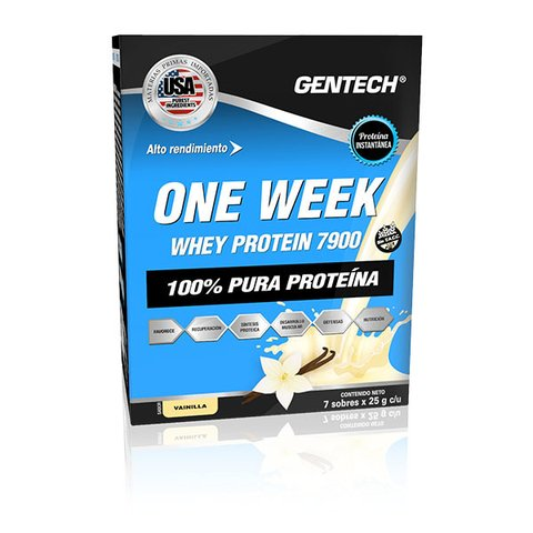 One Week Whey Protein Gentech en internet