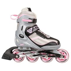 Rollers Py Tuxs Gris con rosa