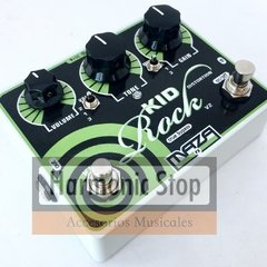 Pedal Maza fx - Kid Rock Distorsion V2 blanco + porta pua regalo