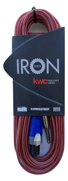 Cable Bafle Monitor Kwc Iron 401 Speakon/Plug - Plug 6 Mts