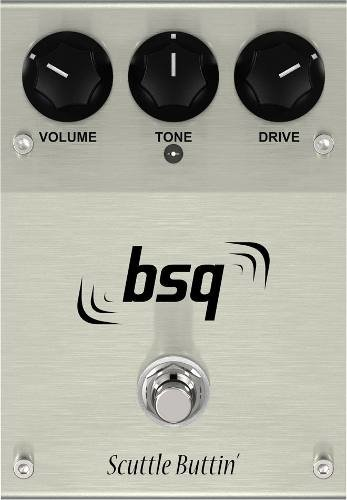 Pedal De Guitarra Bsq Effects Scuttle Buttin Overdrive - comprar online
