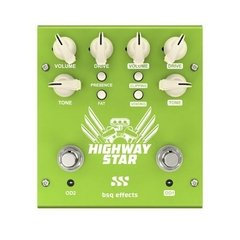 Pedal Overdrive Doble Bsq Effects Highway Star Hs2 Guitarra - comprar online