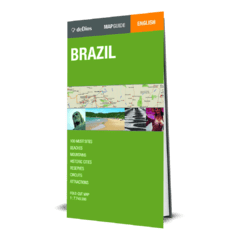 Brazil Map Guide - comprar online