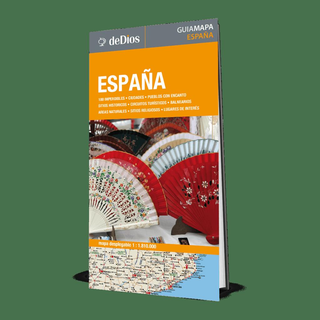 Localidades Pueblos De Madrid Mapa.Guia Mapa De Espana Comprar En De Dios Editores