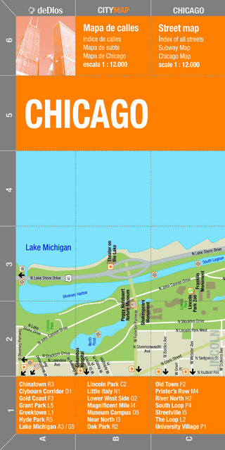 City Map Chicago