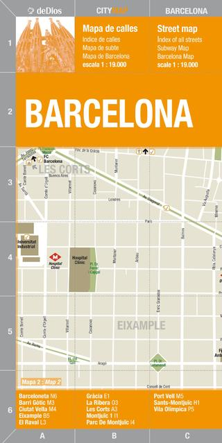 City Map Barcelona