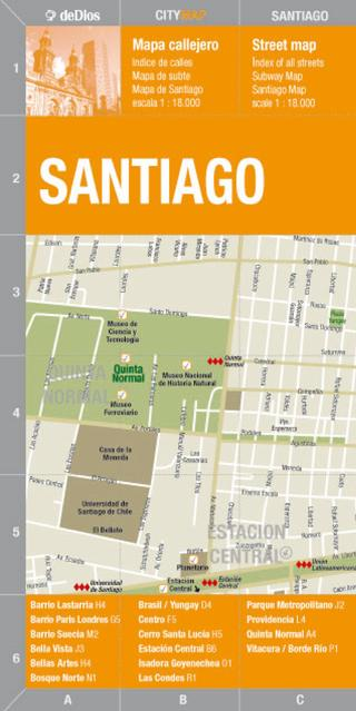 City Map Santiago