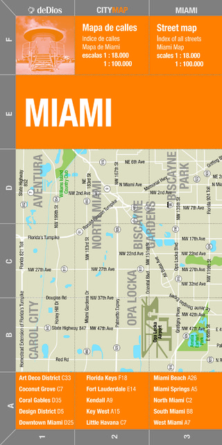 City Map Miami