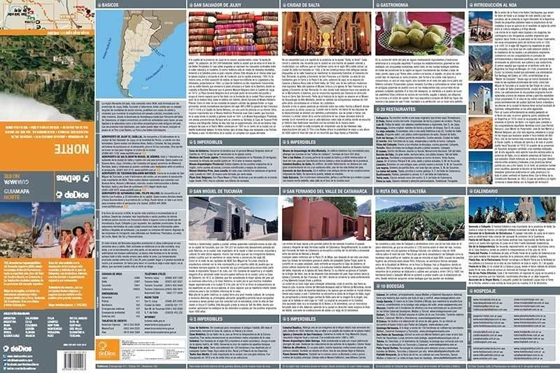 Guía Mapa Norte - Comprar en de Dios Editores