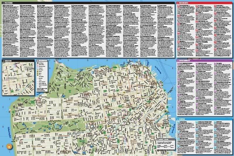 Mapa De San Francisco.Guia Mapa De San Francisco De Dios Editores