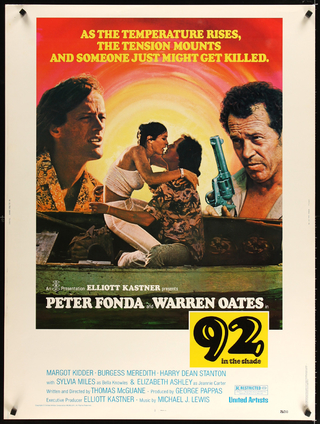 Poster 92 in the Shade [1975]