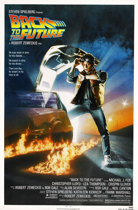 Poster Back to the Future [1985] en internet