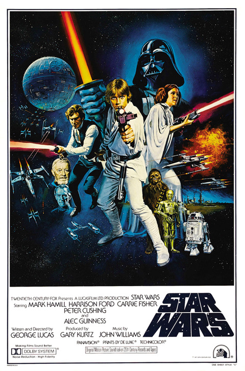 Poster Star Wars_A New Hope [1977]