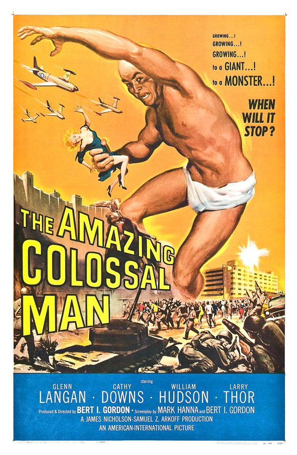 The Amazing Colossal Man [1957] - comprar online