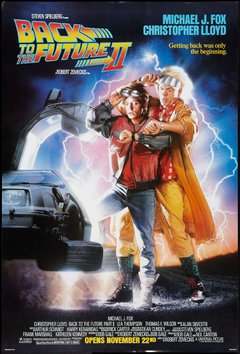 Póster Back to the Future 2