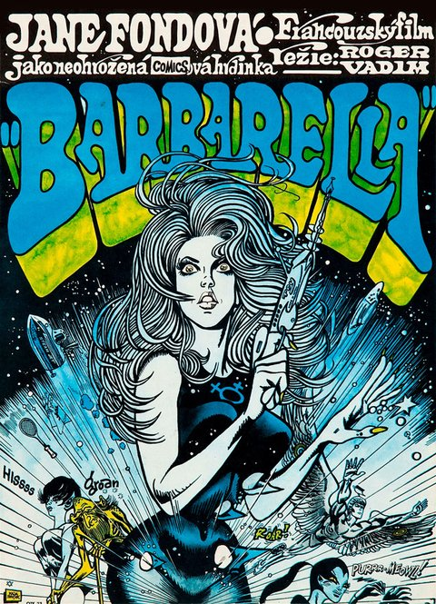 Barbarella [1968] - polaco
