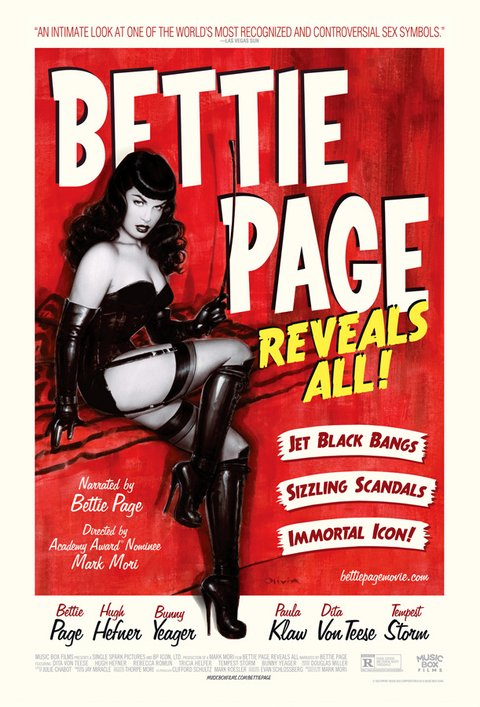 Bettie Page Reveals All [2012]
