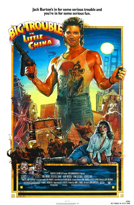 Poster Big Trouble in Little China [1986] en internet