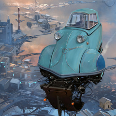 """Big Boys"" - Alejandro Burdisio (BURDA) en internet"