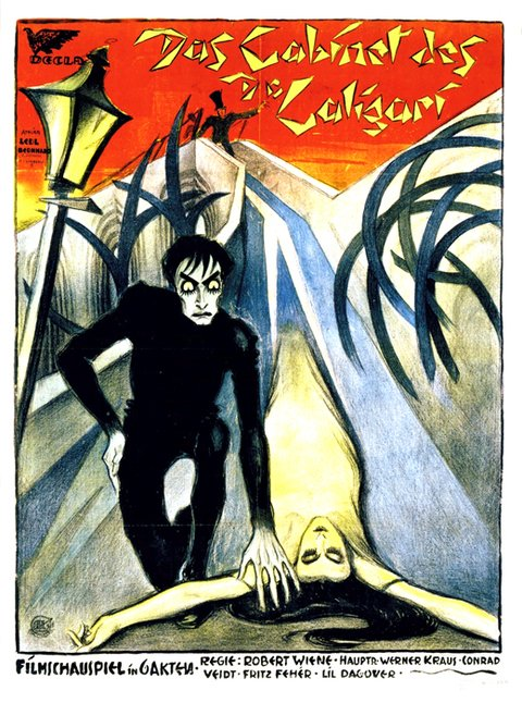 The Cabinet of Dr. Caligari [1920] - silent era en internet